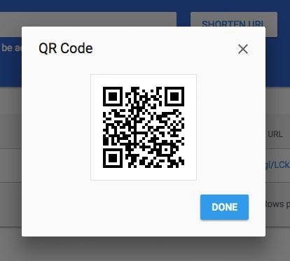 Código QR gratis Paso 4