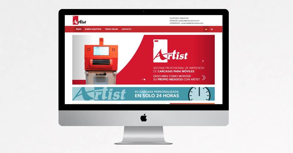 Artist phone paginas web en marbella for Divatto on line