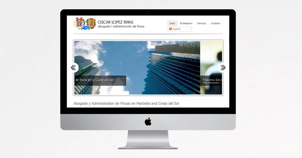 Oscar l pez rivas paginas web en marbella for Administrador de fincas marbella