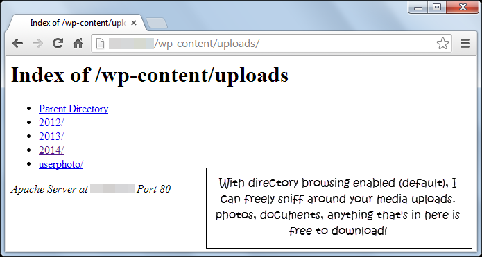 wordpress-htaccess-hack-disable-directory-browsing - Paginas